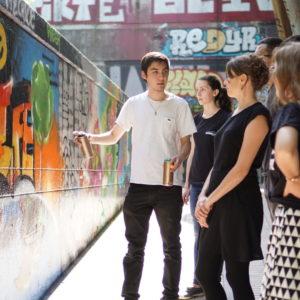 Street Art workshops in Paris