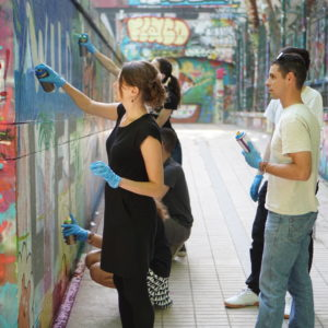 Street Art workshops in Paris